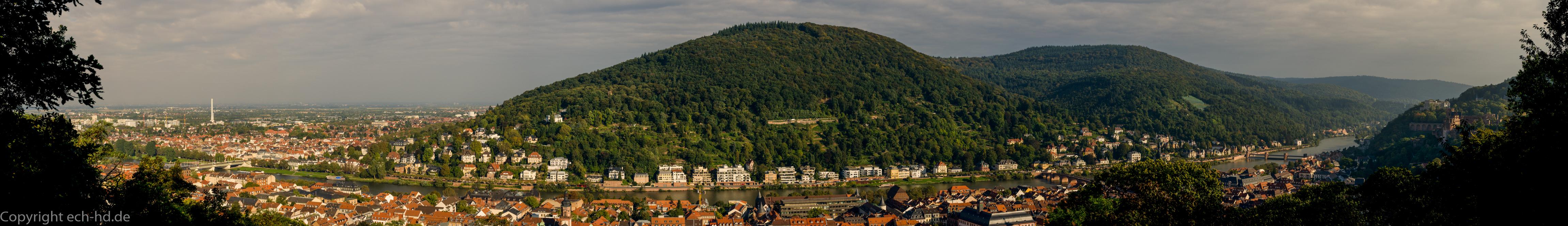 Panorama Heidelberg